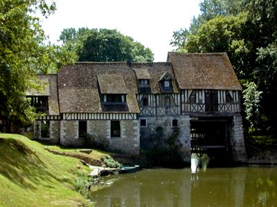 Photo du Moulin d'Andé, Eure, Haute-Normandie. http://www.moulinande.com